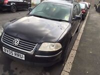 05 VW PASSAT 1.9TDI THIS CAR IS FOR BREAKING ALL PARTS AVAILABLE