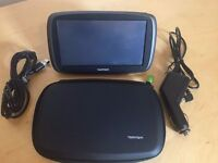 """TomTom Start 60 Sat Nav 6"""" with Western Europe Maps , Lifetime Map Updates and Original TomTom Case"""