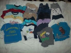 Children's bundle of clothing 1-2 years
