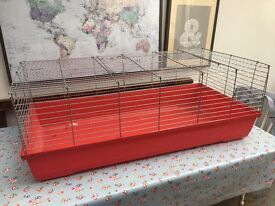 Indoor Guinea Pig Cage and Accessories
