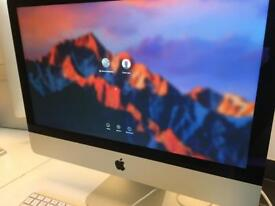 "Apple iMac 21.5"" quad core 2.7Ghz Core i5 8GB ram"