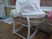 Mamma's N Pappa's Moses Basket