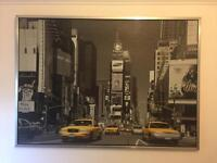 Large Framed Ikea Picture / Print