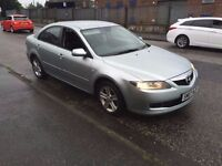 2007 MAZDA 6 TS DIESEL MOTED UNTIL FEB 2017 VERY GOOD CONDITION £995