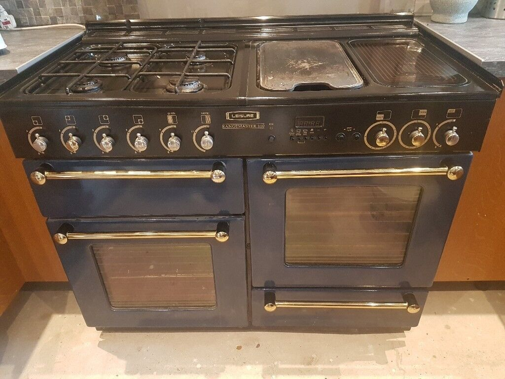 Royal Blue Rangemaster Oven 110cm NOT WORKING