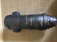 Sigma 150-500mm f/5.0-6.3 Mint Condition