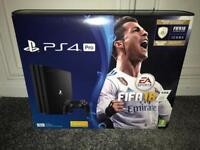 PS4 Pro Fifa 18 Bundle