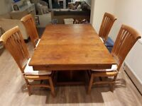Extendable Handmade Dining Table