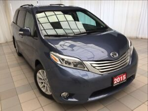 2015 Toyota Sienna Limited AWD *Loaded!*