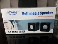 Boxed Never Been Used HiPoint USB Powered Multimedia Speaker SPH-CUB600