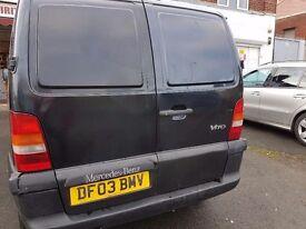 Mercedes Vito Van 2003 12 months mot Bargain