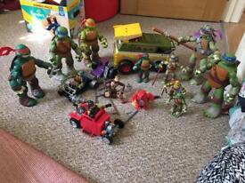 Ninja turtles bundle £30