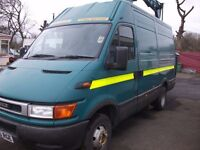 iveco daily 50c 11 12.5 metre cherry picker. no vat