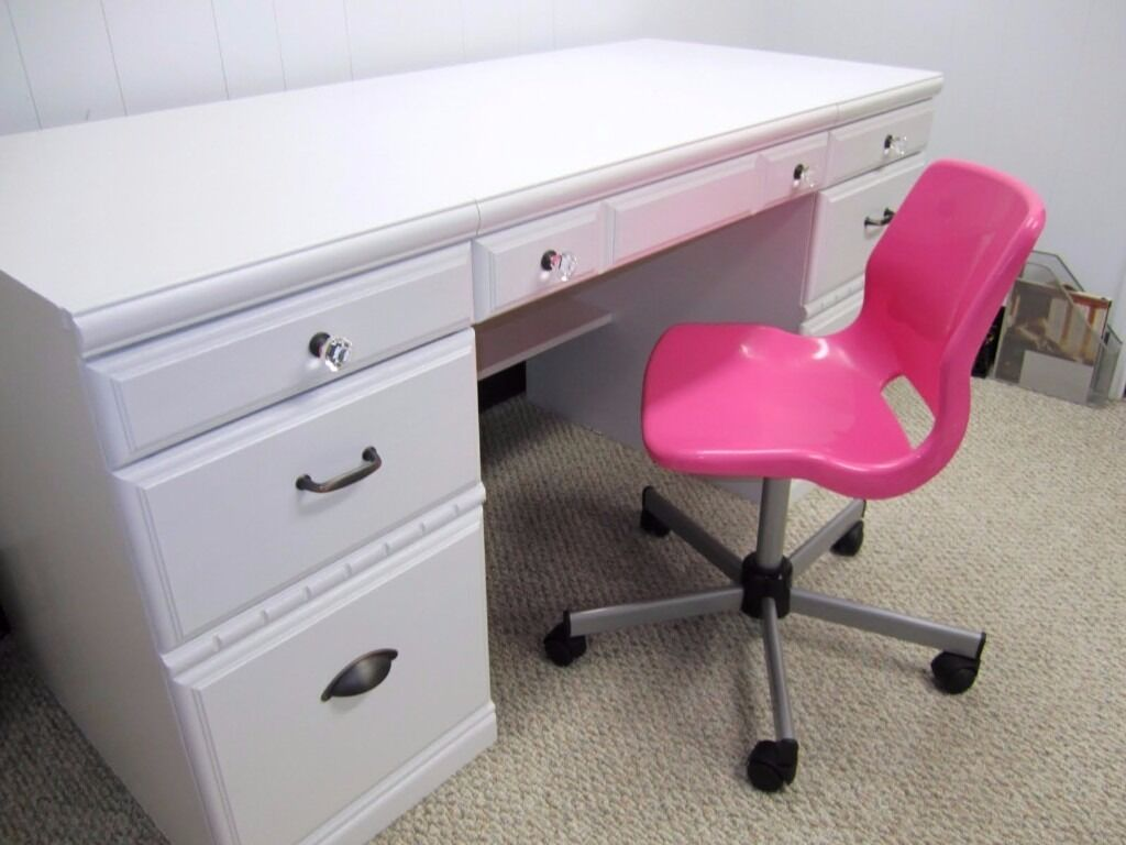 Ikea Pink Swivel Desk Office Chair Pre Owned