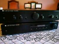 Cambrige audio and duel cs505 Hifi separates