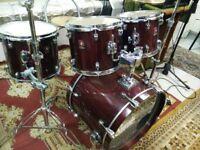 Premier XPK drum Kit *****good condition;;;all tom have cases