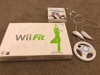 Wii Fit Board/Steering Wheel/Nunchucks