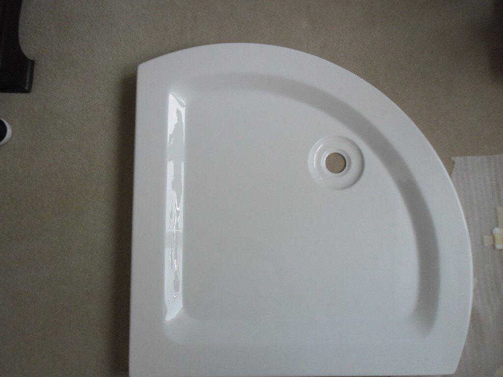 Shower Tray Acrylic 80cmx80cmx5.5cm