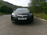 Astra gtc 2.0 cdti diesel sri black 63 platelovely car with low milage 33000miles