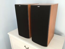 B&W Bowers and Wilkins DM602 S2 Speakers in Cherry