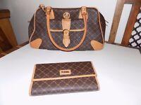 Rioni designer hand bag and matching purse BRAND NEW
