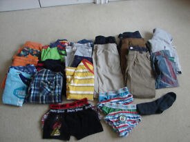 BOYS CLOTHES AGE 4 - 5 . ( BUY AS A BUNDLE OR SEPARATELY)