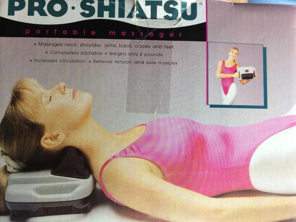 Pro-Shiatsu portable massager
