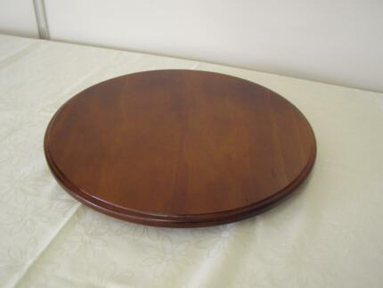 NEW LAZY SUSAN  TIMBER / WOODEN