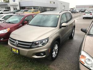 2015 Volkswagen Tiguan One Owner, Sunroof, Alloys 4Motion