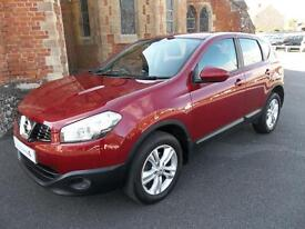 Nissan Qashqai 1.5 dCi [110] Acenta 5dr (magnetic red) 2011