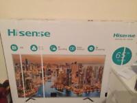"""Hisense 4K 65"""" led tv brand new"""