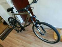 Spares or repairs bike frame and forks only