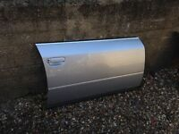 AUDI A6 C5 DOOR FRONT RIGHT SILVER