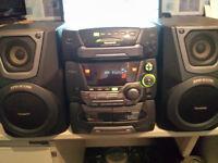 Panasonic, SA-AK25, hi-fi stereo system