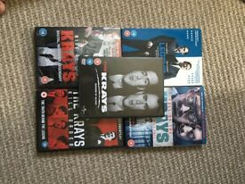 Krays DVDs