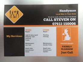Experienced Local Handyman Paisley