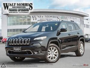 2017 Jeep Cherokee LIMITED: NO ACCIDENTS, ONE OWNER & NAV