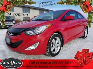 2013 Hyundai Elantra Coupe GLS - LOADED WITH OPTIONS!