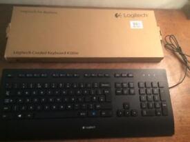 Logitech K280e Corded Keyboard for Windows - QWERTY, UK Layout