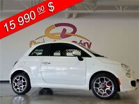 2015 Fiat 500 AVEC LES SIÈGES GARNIS DE CUIR, COMME NEUF !!!