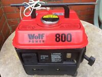 Bargain Wolf 800 Portable Generator Power Pack Used Once For Camping