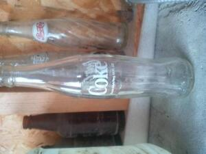 Antique Vintage Coca-Cola Coke Glass Bottle