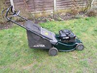 Hayter 48 Jubilee petrol lawn mower