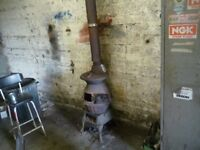 pot belly stove ,large by clarke