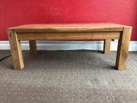 Solid Oak Coffee Table Cheap!!