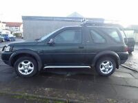FREELANDER FOR SALE, LOW MILEAGE EXELENT CONDITION