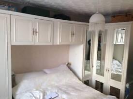Bedroom unit. Excellent condition!! Bedroom storage furniture wardrobe draws mirrors cupboards