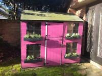 Stunning pink Wendy house play house