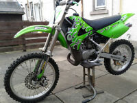 KAWASAKI KX 85 2011 BIG WHEEL