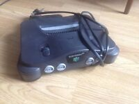 Nintendo 64 (PAL) Console + Power Supply ONLY (no AV cable, games or controllers)
